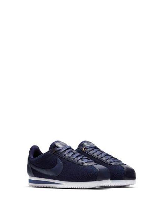 Lyst Cortez Nike Cortez Lyst Classic Lx zapatilla En Azul 4d6b4e