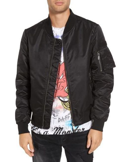 ELEVEN PARIS | Black Ac/dc Bomber Jacket for Men | Lyst
