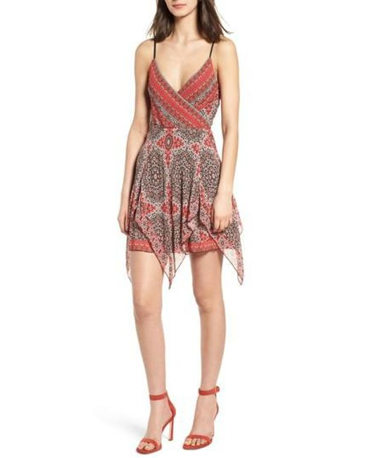 Bailey 44 - Red Bandana Minidress - Lyst