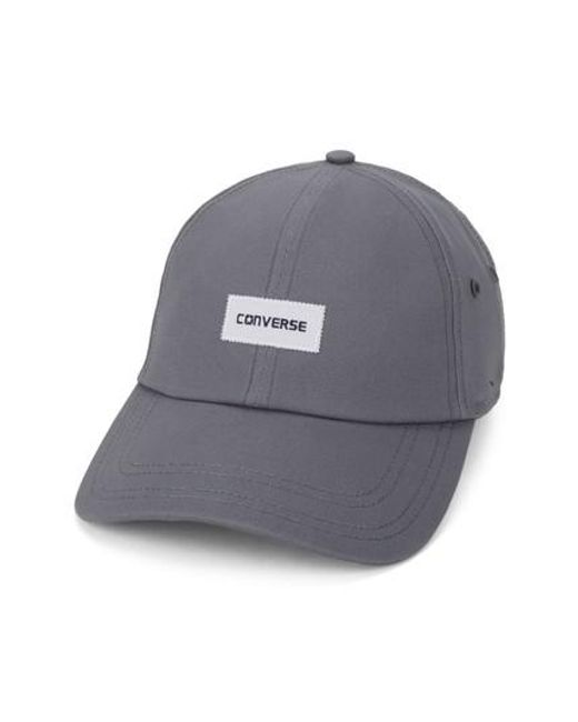 Converse | Gray Charles Baseball Cap for Men | Lyst