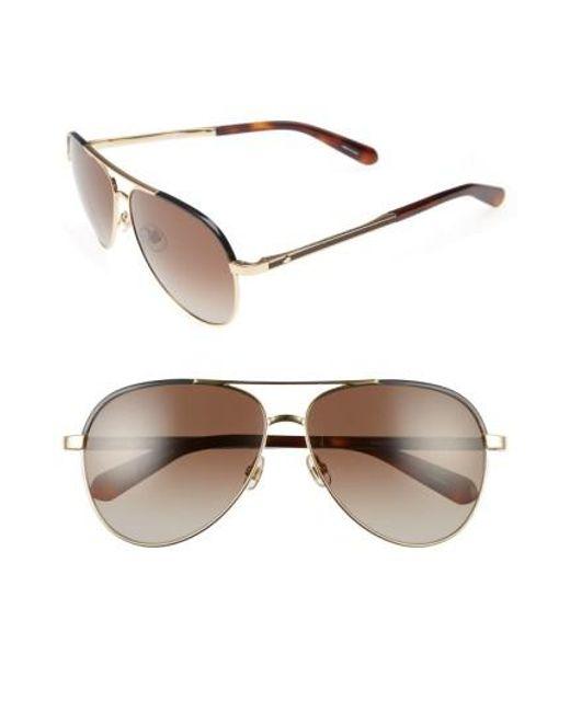 Kate Spade | Multicolor Amaris 59mm Sunglasses | Lyst