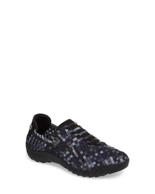 Bernie Mev | Black Rigged Vivaldi Slip-on Sneaker | Lyst