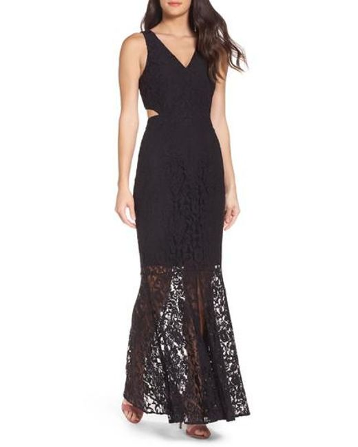 Ali & Jay | Black Beautiful People Cutout Lace Gown | Lyst