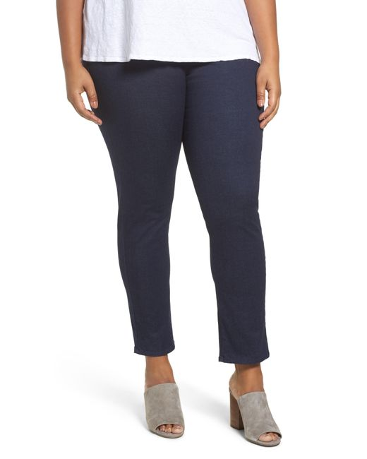 Foxcroft - Blue Nina High Rise Slimming Pants - Lyst