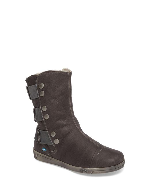 Cloud - Gray Amber Wool Lined Bootie - Lyst