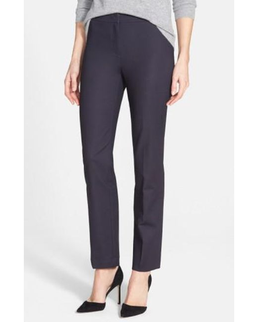 NIC+ZOE | Blue The Perfect Ankle Pants | Lyst
