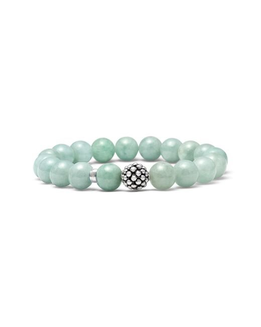 Lagos - Blue Bead Stretch Bracelet - Lyst