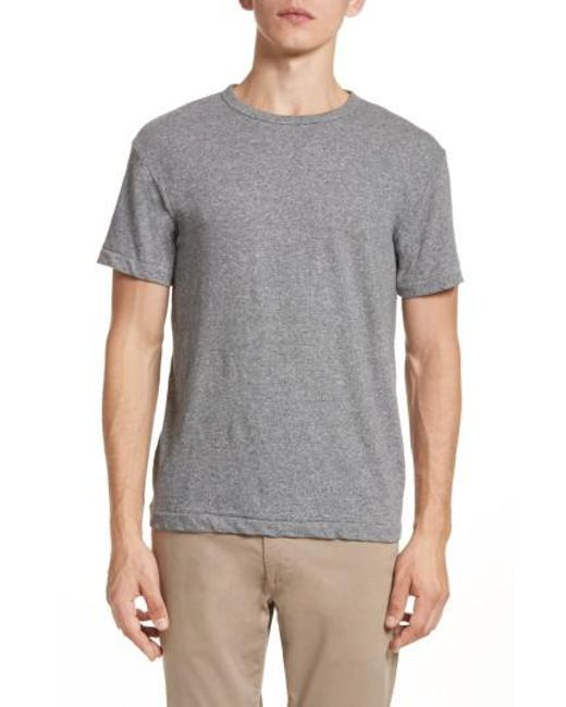 Todd Snyder - Gray + Champion Heathered Crewneck T-shirt for Men - Lyst