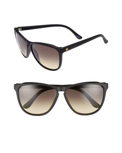 Electric - Black 'encelia' 66mm Retro Sunglasses - Lyst