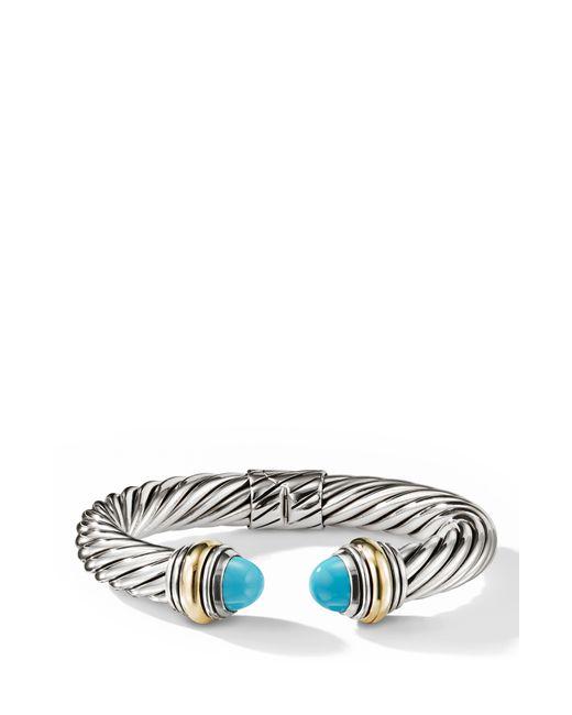 David Yurman - Metallic Cable Classics Bracelet - Lyst