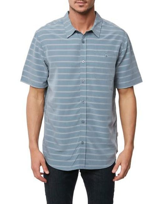 Jack O'neill - Blue Slow Ride Sport Shirt for Men - Lyst