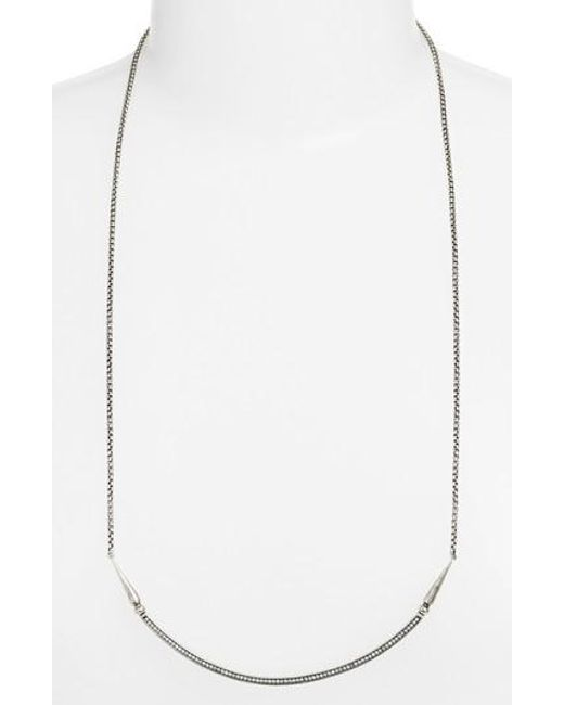 Kendra Scott - Metallic 'scottie' Pendant Necklace - Lyst