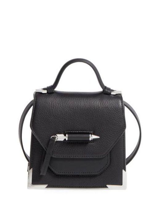 Mackage - Black Mini Rubie Leather Shoulder Bag - Lyst