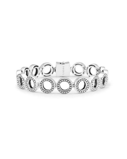 Lagos | Metallic 'enso' Caviar(tm) Line Bracelet | Lyst