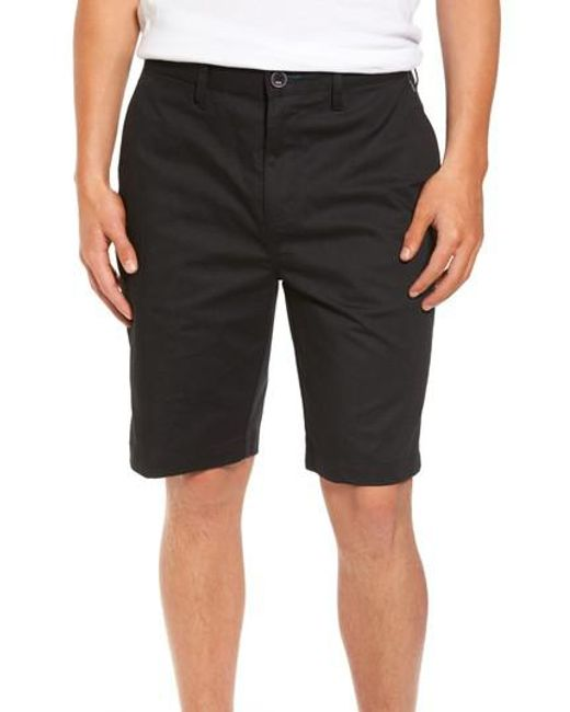 Billabong | Black Carter Stretch Twill Shorts for Men | Lyst