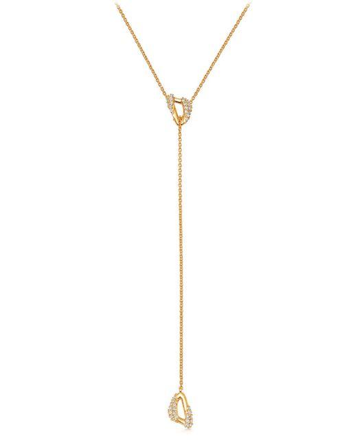 Astley Clarke Metallic Mini Vela Lariat Necklace