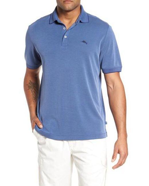 Tommy Bahama | Blue Coastal Crest Polo for Men | Lyst