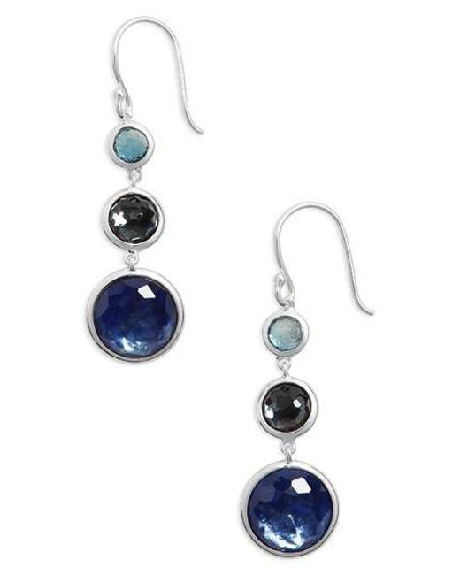 Ippolita - Blue Lollipop Lollitini Drop Earrings - Lyst