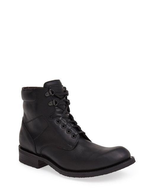Sendra - Black 'traveler' Round Toe Boot for Men - Lyst