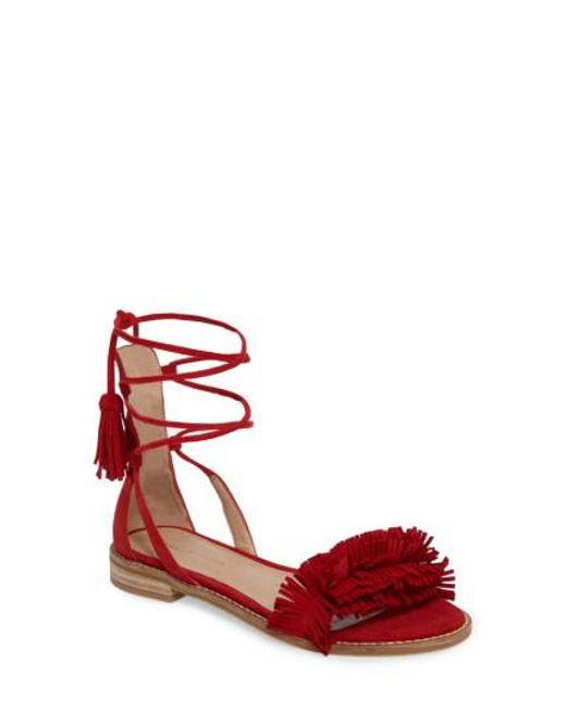 Pelle Moda | Red Harah Sandal | Lyst