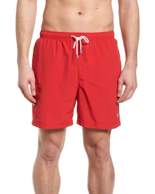 Tommy Bahama - Red Naples Coast Swim Trunks for Men - Lyst