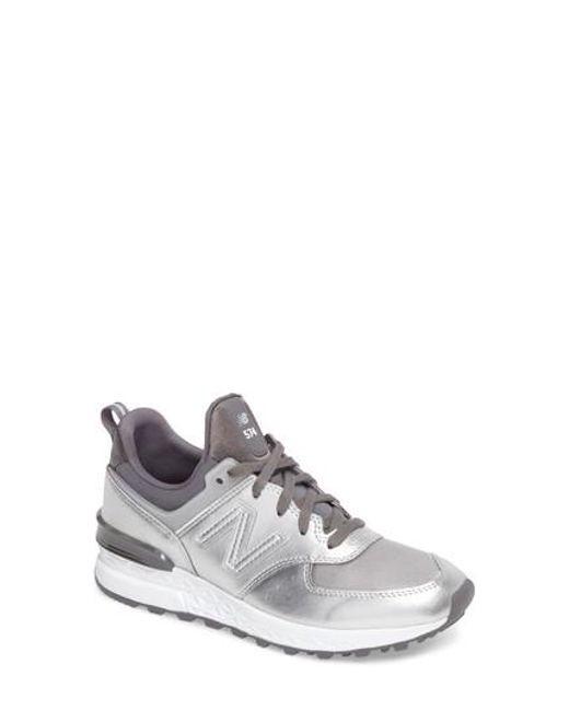 New Balance | Metallic '574' Sneaker | Lyst