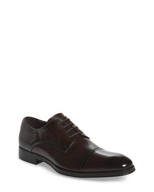 Kenneth Cole | Brown Light Jolt Cap Toe Derby for Men | Lyst