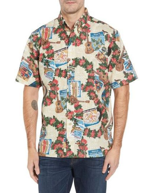 Reyn Spooner | Natural Hawaiian Christmas 2017 Sport Shirt for Men | Lyst