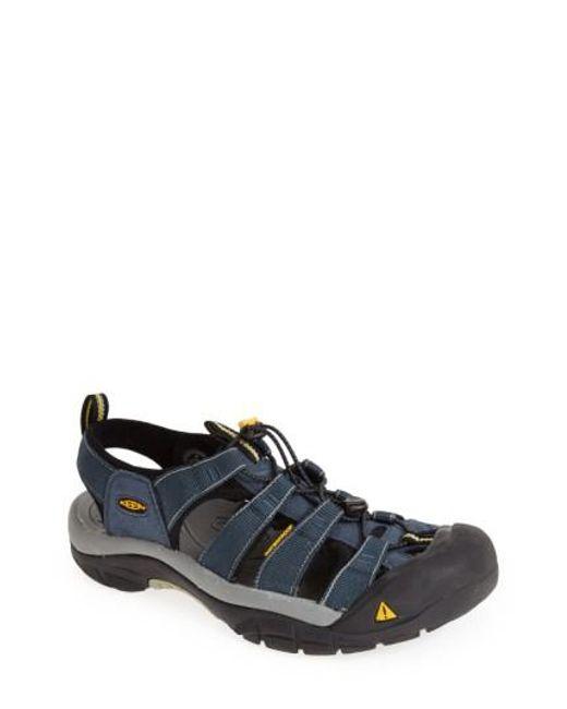 Keen | Black 'newport H2' Sandal for Men | Lyst