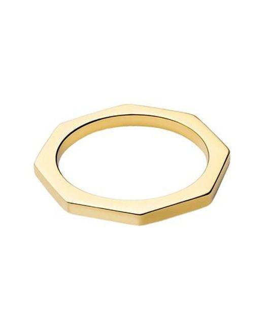 Miansai   Metallic Bly Ring   Lyst