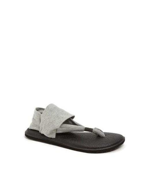 Sanuk | Gray 'yoga Sling 2' Sandal | Lyst