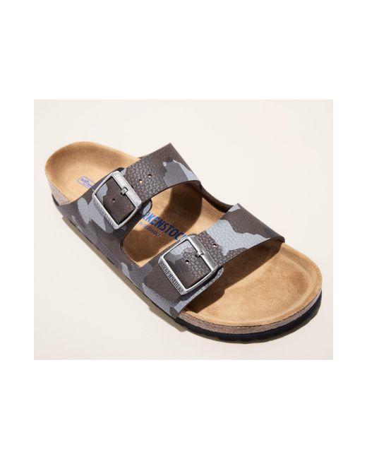 Birkenstock - Gray Arizona Soft Slide Sandal for Men - Lyst