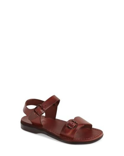 Jerusalem Sandals | Brown The Original Leather Sandals  | Lyst