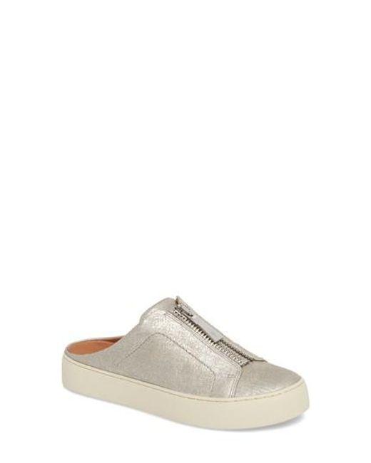 Frye - Metallic Lena Platform Sneaker Mule - Lyst