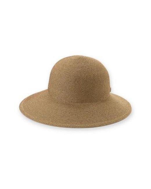 Eric Javits | Brown 'squishee Iv' Wide Brim Hat | Lyst