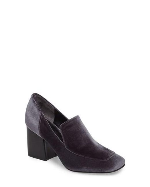 Marc Fisher | Gray Marlo Loafer Pump | Lyst