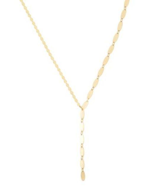 Lana Jewelry Bond 14K Long Link Necklace, 36
