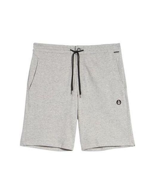 Volcom - Gray Chiller Shorts for Men - Lyst