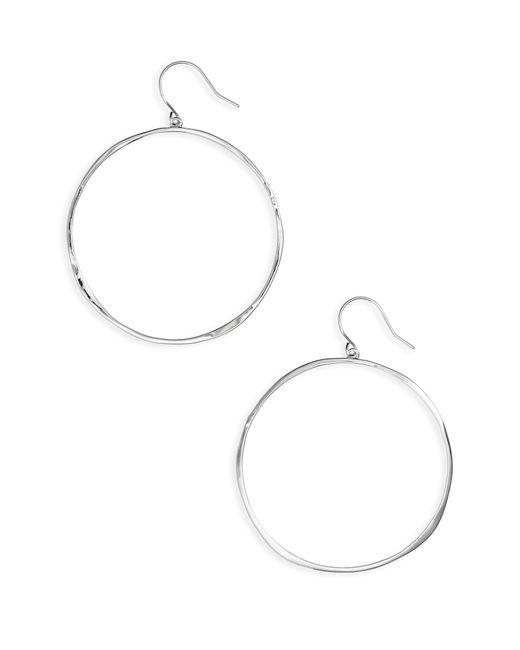 Gorjana - Metallic 'g Ring' Hoop Earrings - Lyst