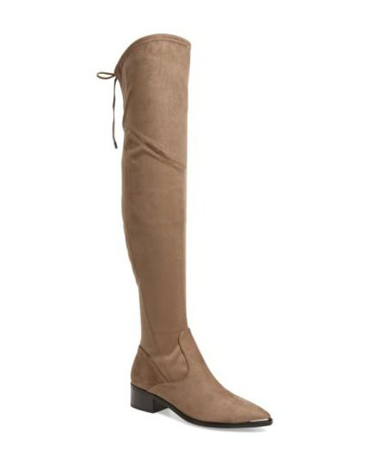 Marc Fisher | Brown . Yuna Over The Knee Boot | Lyst