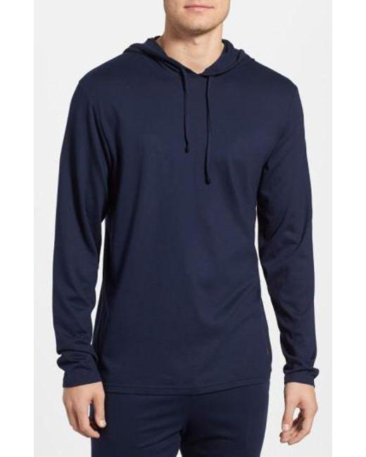 Polo Ralph Lauren - Blue Pullover Hoodie for Men - Lyst
