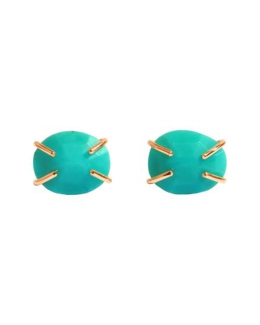 Melissa Joy Manning   Blue Turquoise Prong Stud Earrings   Lyst