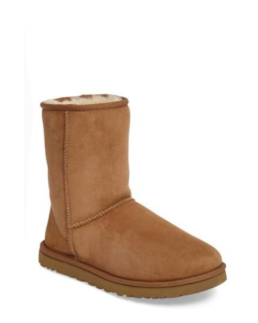 Ugg - Brown Ugg Classic Short Boot for Men - Lyst