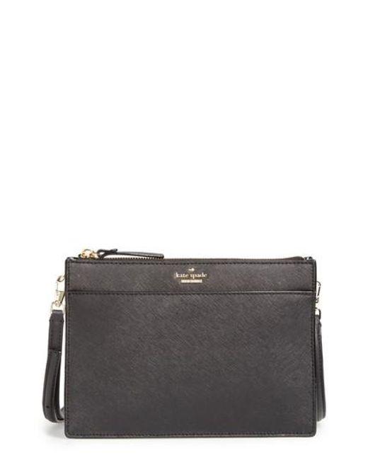 Kate Spade | Black Cameron Street Clarise Leather Shoulder Bag | Lyst