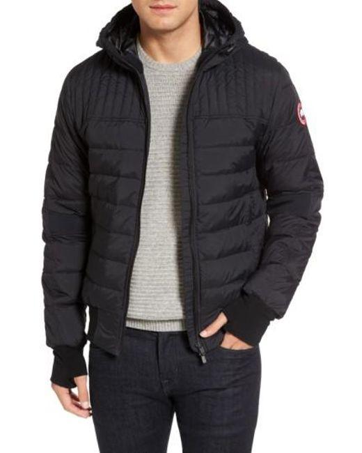 canada goose black puffer jacket