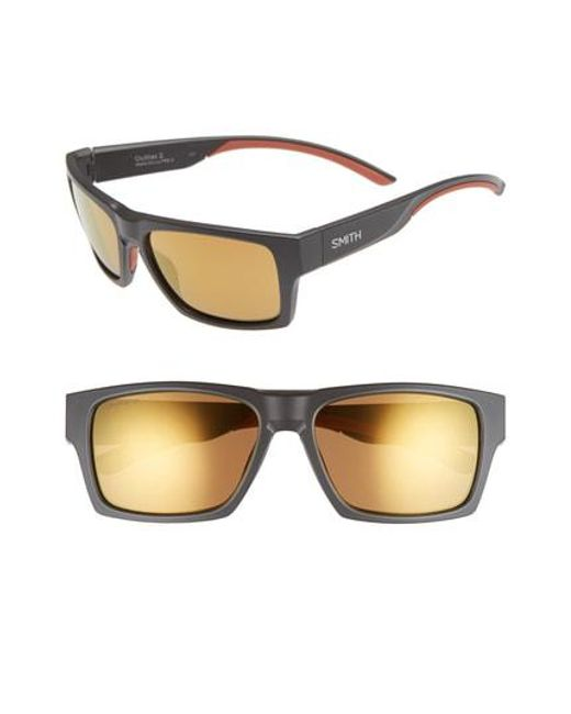 3fb8b1c17a9 Smith - Multicolor Outlier 2 57mm Polarized Square Sunglasses - Lyst