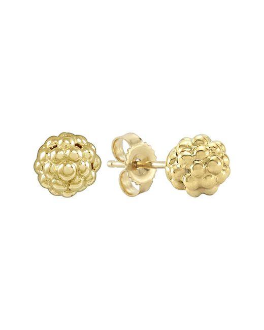 Lagos - Metallic 'caviar Icon' Stud Earrings - Lyst