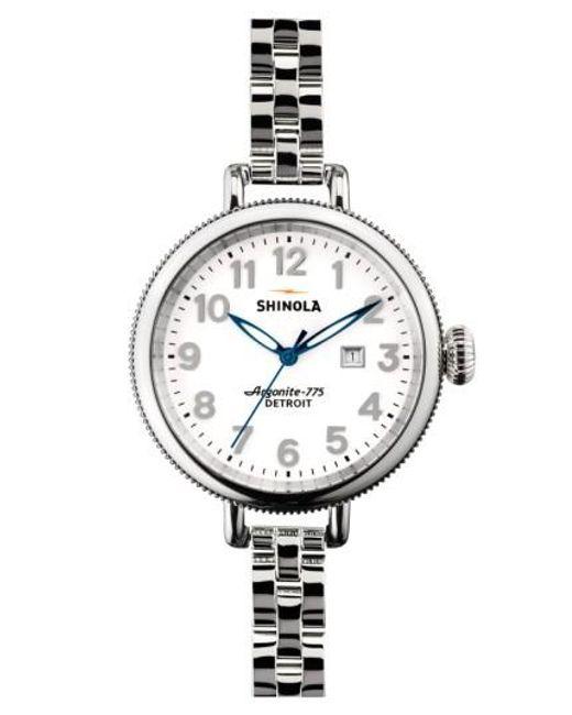 Shinola | Metallic 'the Birdy' Bracelet Watch | Lyst