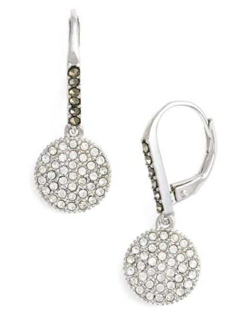 Judith Jack - Metallic Round Drop Earrings - Lyst