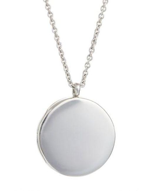 Tom Wood | Metallic Large Medallion Pendant Necklace | Lyst